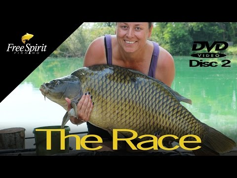 CARP FISHING - FREE SPIRIT THE RACE DVD Disc 2