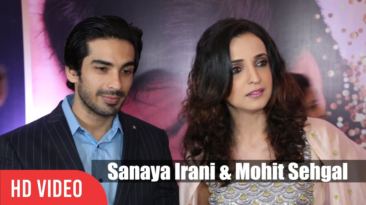 Sanaya Irani with husband Mohit Sehgal Media Interaction   4th Yash Chopra National Memorial Award