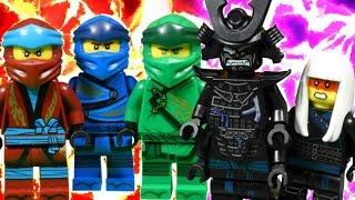 LEGO NINJAGO HUNTED PART 6 - SHADOW OF GARMADON - SEASON FINALE!!!