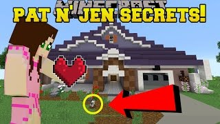 Minecraft PAT JEN S HIDDEN SECRETS - Custom Map