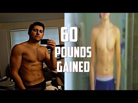 60 POUND WEIGHT GAIN Type 1 Diabetic Body Transformation