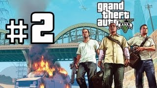 Grand Theft Auto V Walkthrough/Gameplay HD - Franklin - Part 2 [No Commentary]
