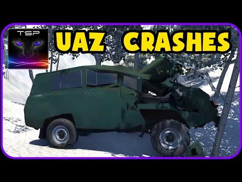 BeamNG drive - UAZ 452 Van - CRASH TESTING & ACCIDENTS
