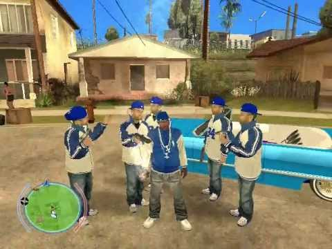 GTA SA : Ultimate Crips And Bloods Skin Pack 2013