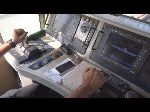 [IRFCA] Shatabdi Express Locomotive Cab Ride, Ultimate Cab Ride in WDP4D Engine