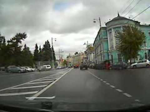 trip by car in downtown Moscow.mpg