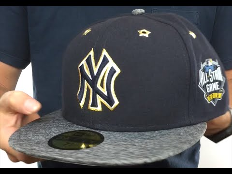 Yankees  2016 MLB ALL-STAR GAME  Fitted Hat by New Era - YouTube 114af5d78dc9