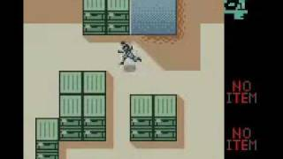 Metal Gear Solid Gameplay Video for Nintendo Game Boy Color