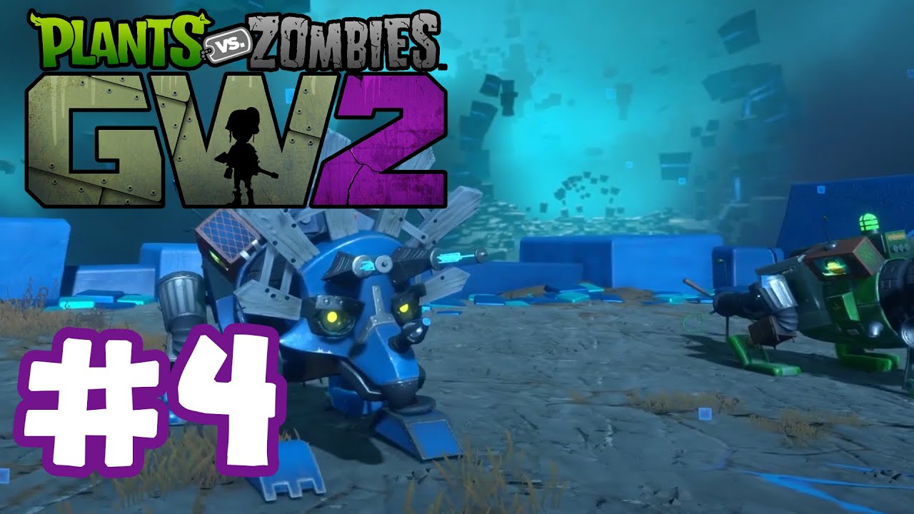 Plants Vs Zombies Garden Warfare 2 Infinity Time 4 Ft Zackscottgames Youtube