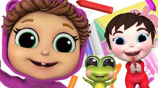 The Crayon Family and MORE! | Baby Joy Joy on Clap Clap Baby