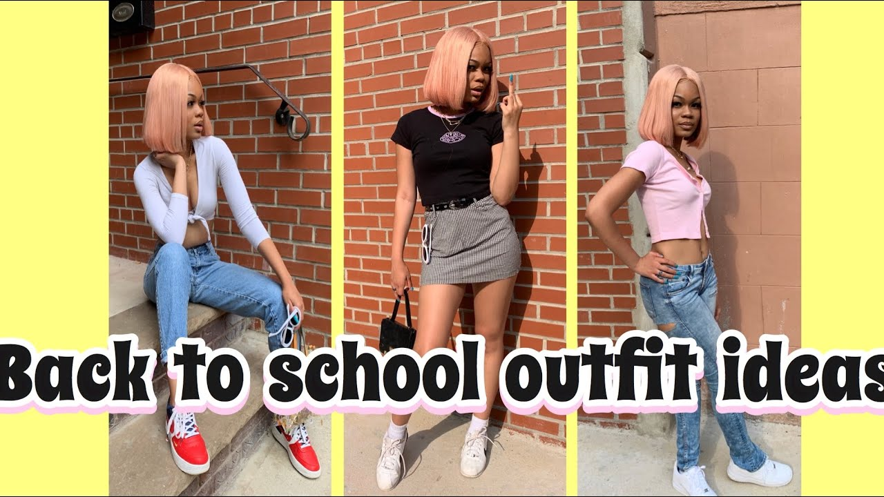 Back To School Outfit Ideas LOOKBOOK   College Edition 2