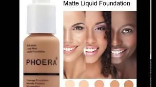 Phoera Soft Matte Long Wear Liquid Foundation