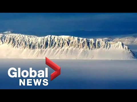 Canada's last intact ice shelf collapses into the sea