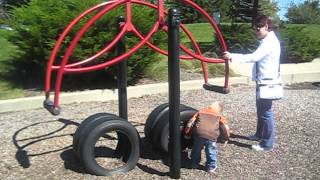 Playground all to Himself