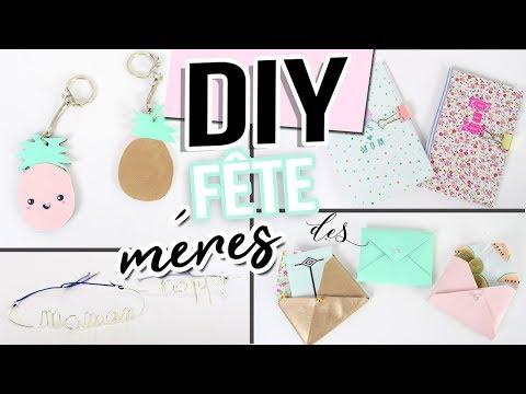 DIY FETE DES MERES ┋ 4 IDEES CADEAUX FACILE _ PAS CHER mother's day gift francais