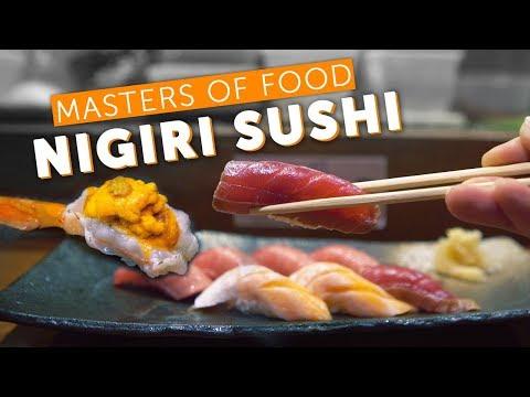 How To Make Nigiri Sushi - Masters Of Food: EP8