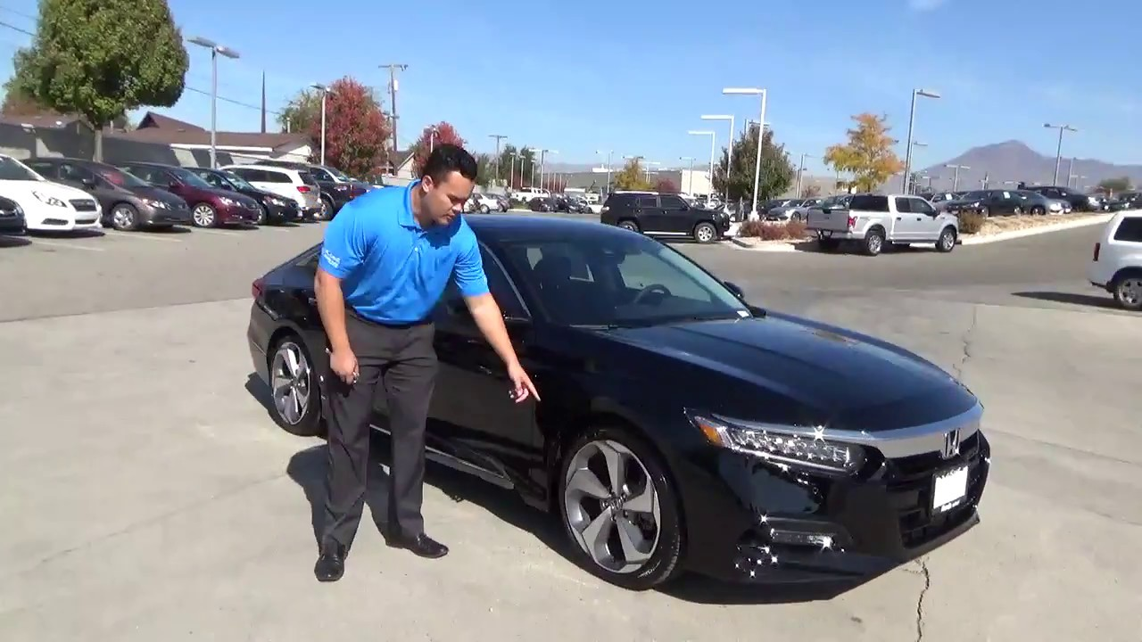 Larry H Miller Honda >> 2018 Honda Accord 2 0t Touring Larry H Miller Honda In Murray Youtube