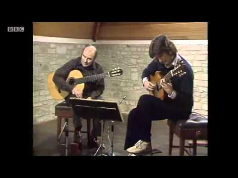 Julian Bream Masterclass 1978: Heitor Villa-Lobos 3 Preludes