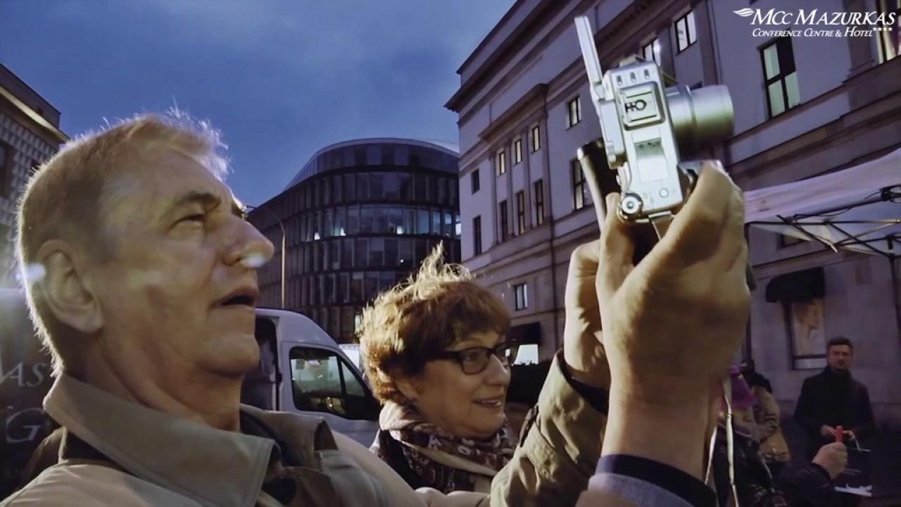 XXIII FHMazurkas - projekcja filmu z odsłonięcia pomnika