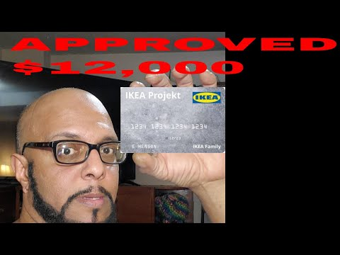 My $12,000 Credit Limit Approval Ikea Projekt Credit Card Unboxing