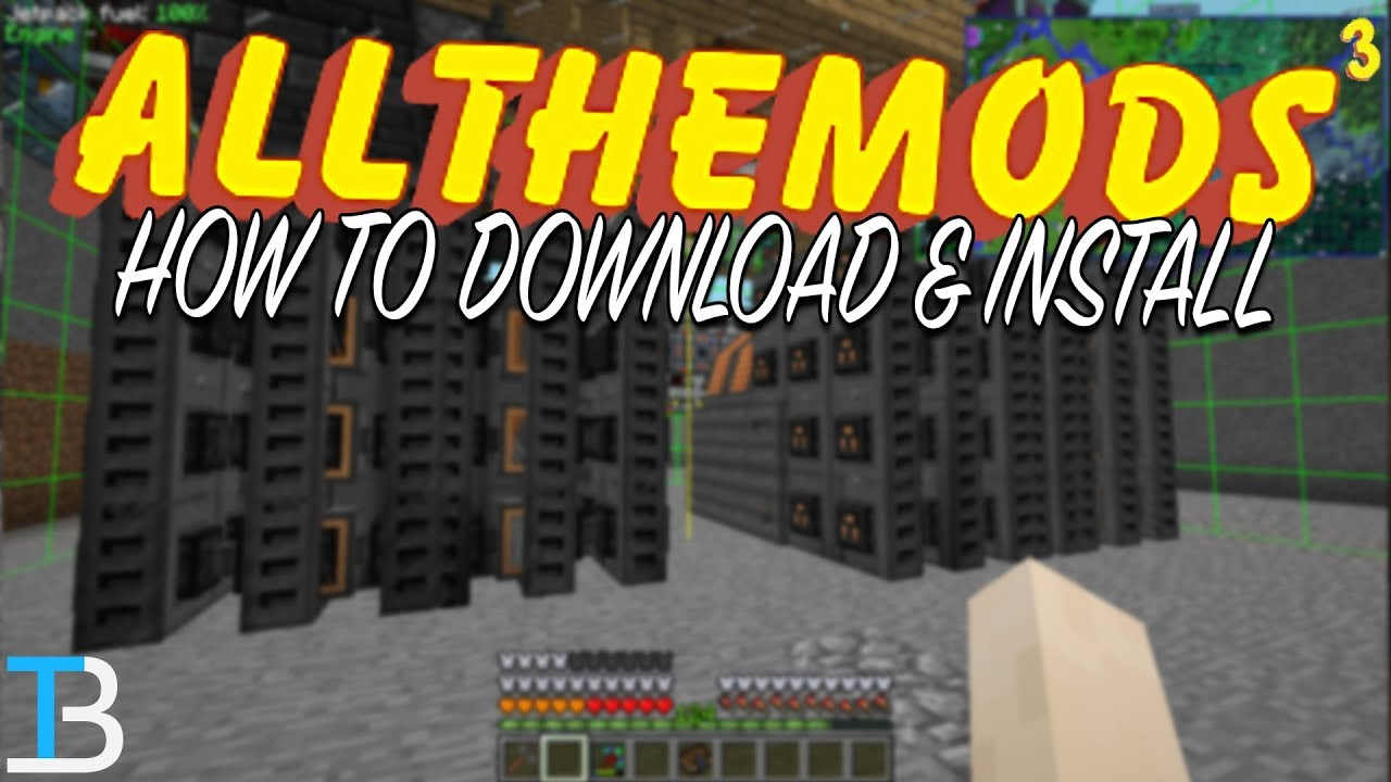 How To Download & Install All The Mods 3 in Minecraft (Play All The Mods 3  in Minecraft!)