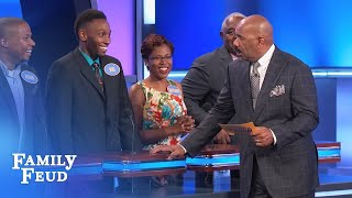 Joel takes it to the bank! | Family Feud
