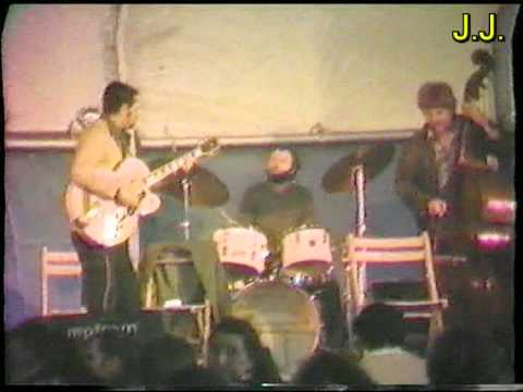 """Kosta Lukas, Jan Jankeje, Kuno Schmid, Thomas Cremer """"Satin Doll"""" Hamburg 1980"""