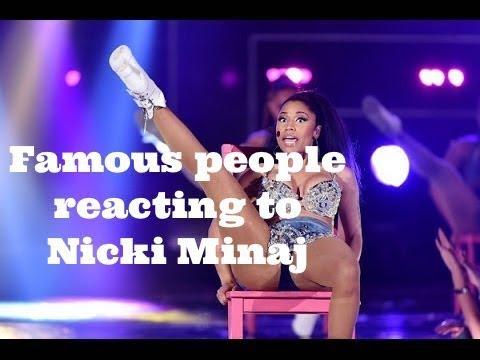 Famous People Reacting To Nicki Minaj