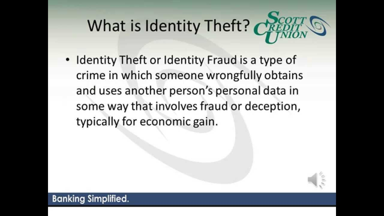 identity theft essay introduction Identity theft - cause, prevention, and effect introduction a major growing problem within the united states is identity theft identity theft is.