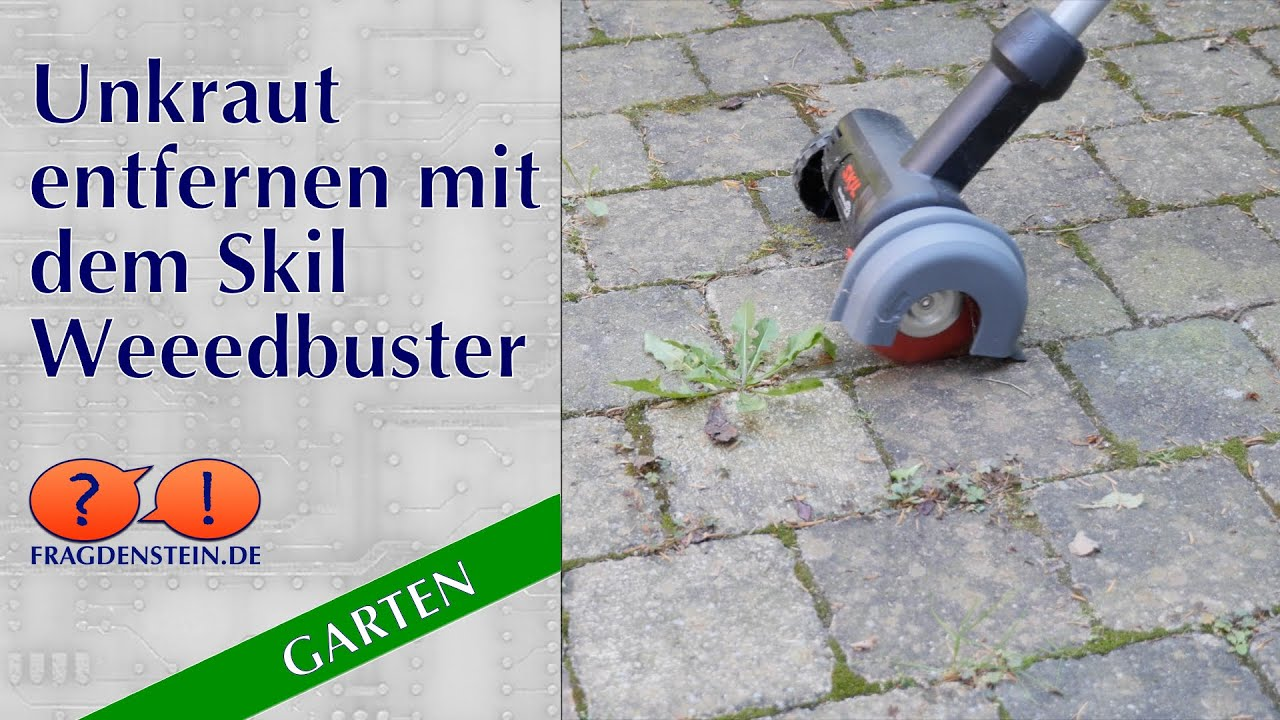 unkraut entfernen mit dem skil weedbuster youtube. Black Bedroom Furniture Sets. Home Design Ideas
