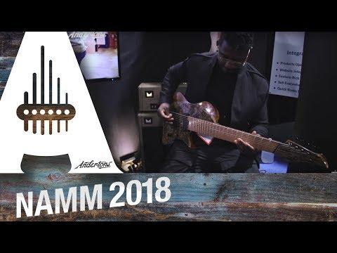The Captain Meets Tosin Abasi And Chats Abasi Guitars - NAMM 2018