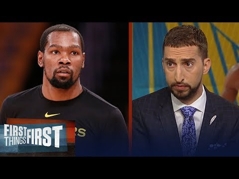 Warriors need KD to play in Game 5 to avoid elimination - Nick Wright | NBA | FIRST THINGS FIRST