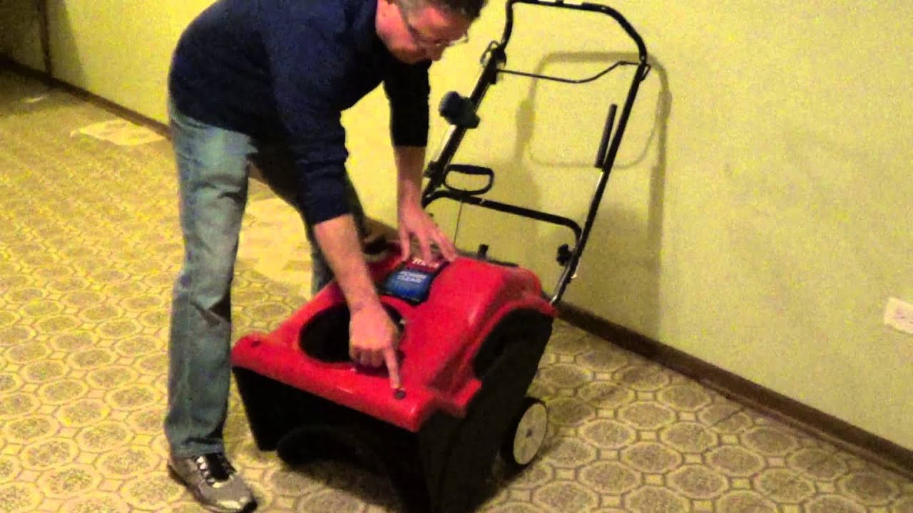 how to change the spark plug on a toro power clear snowblower [ 1280 x 720 Pixel ]
