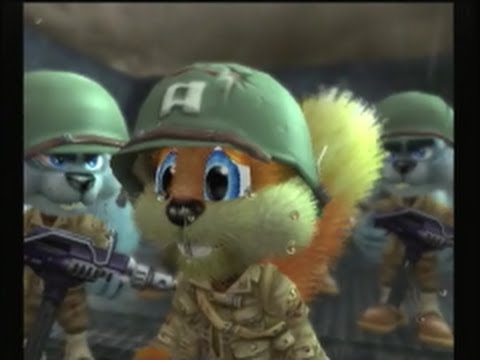 Conker: Live and Reloaded – D-Day Parody