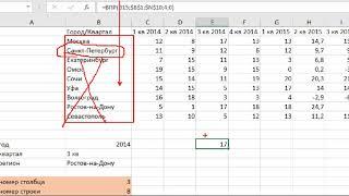 Функция ЕСЛИ и функции категории ссылки  и массивы