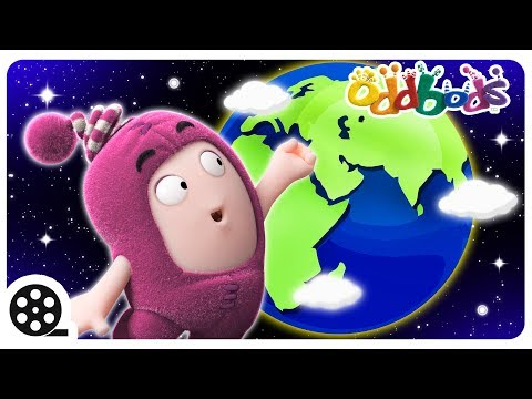 Oddbods - AROUND THE WORLD | Funny Cartoons For Kids | The Oddbods Show