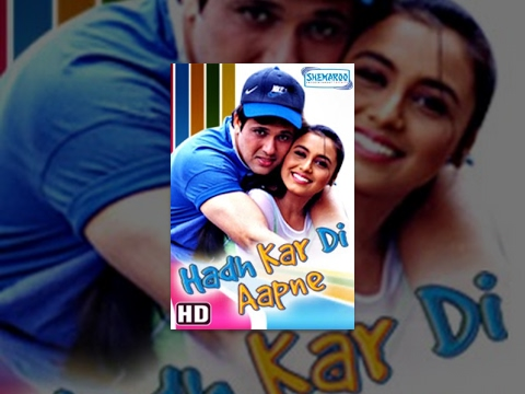 Hadh Kar Di Aapne (HD) - Hindi Full Movie - Govinda, Rani Mukerji, Johnny Lever-(With Eng Subtitles)
