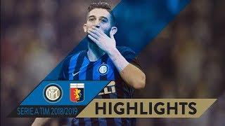 INTER 5-0 GENOA | HIGHLIGHTS  | Matchday 11 Serie A TIM 2018/19