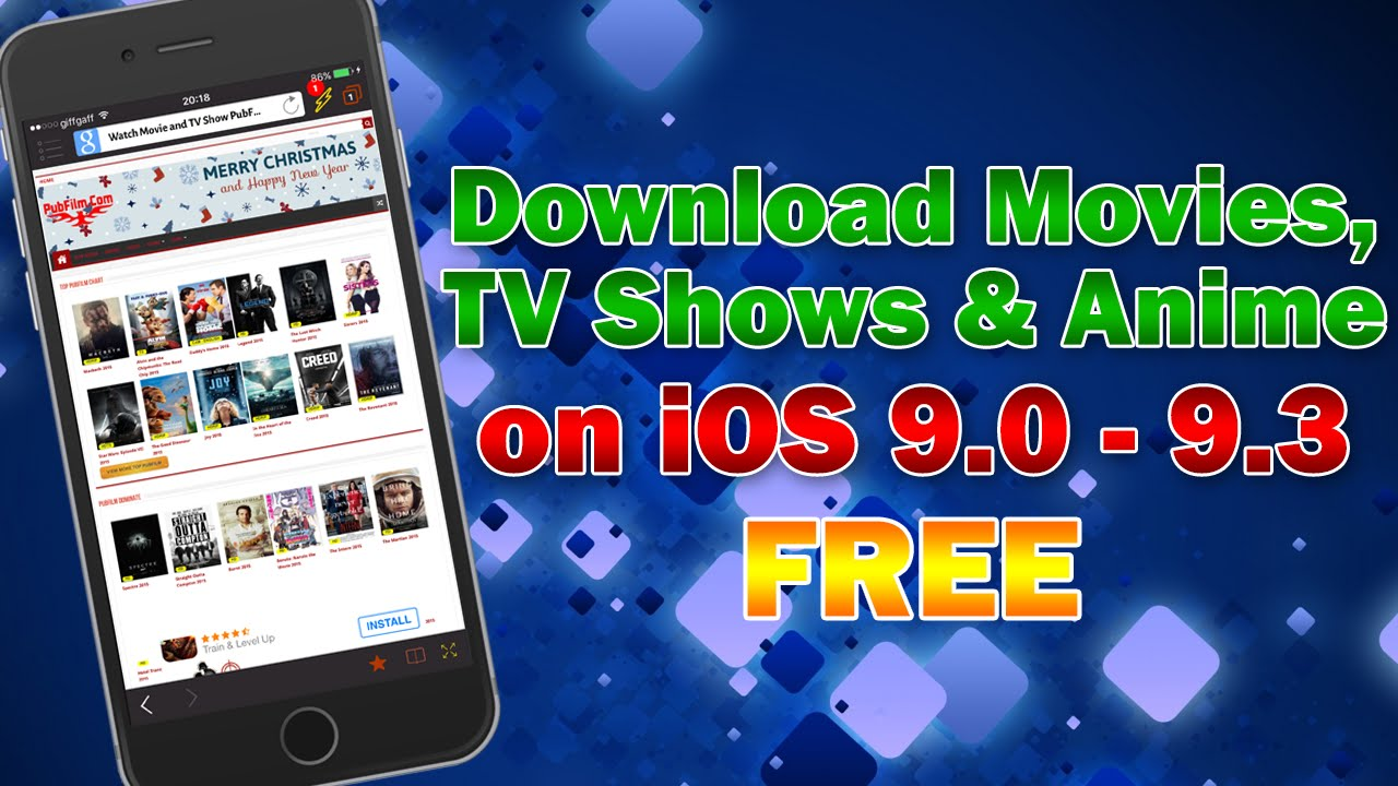 How to download movies tv shows anime for free on ios 9 3 9 2 9 1 9 0 without jailbreak youtube
