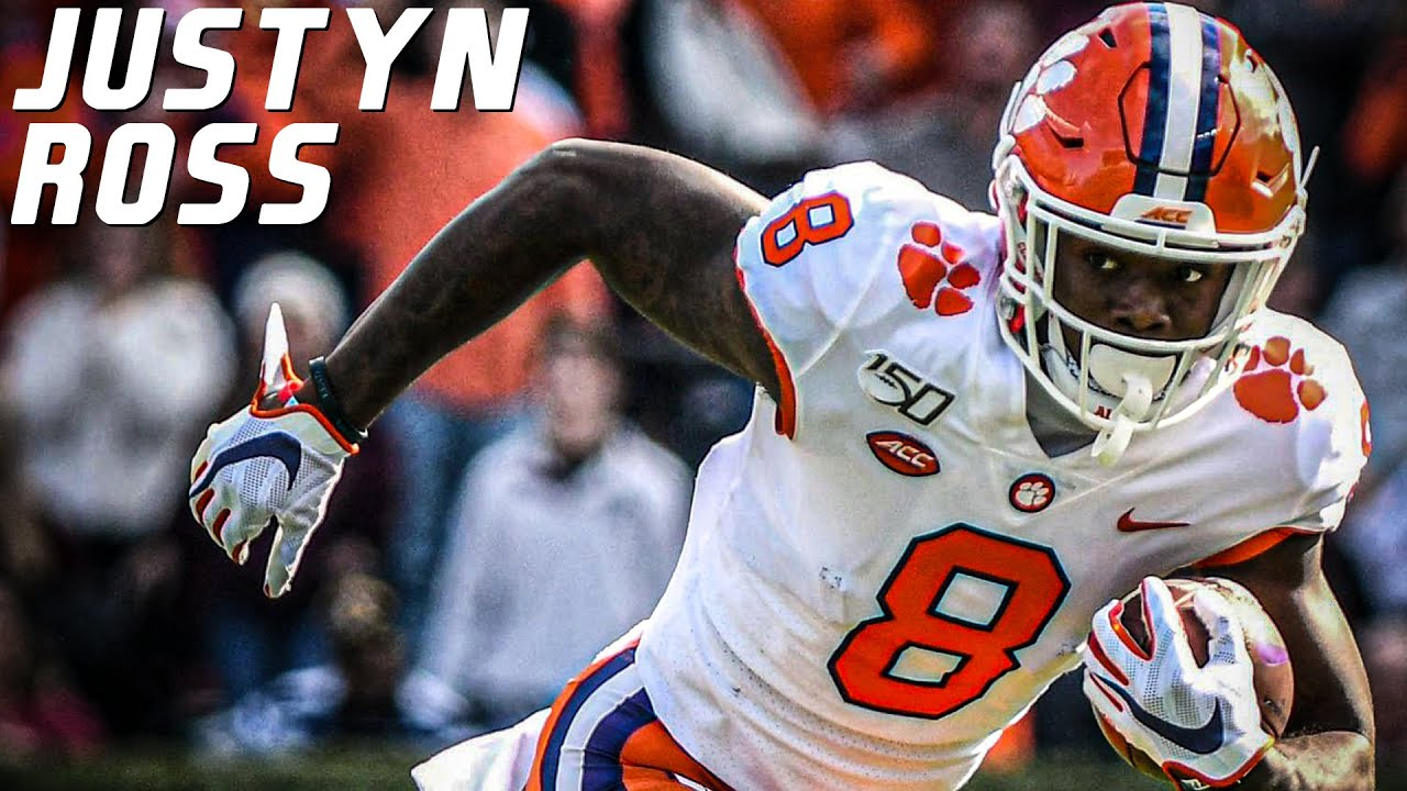 Future First Round Pick | Justyn Ross Clemson Highlights ᴴᴰ