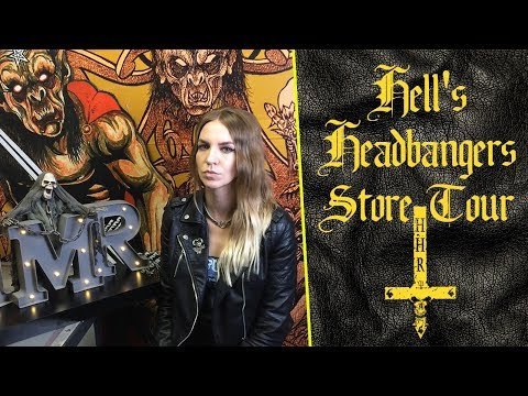Record Label Hells Headbangers Store Tour