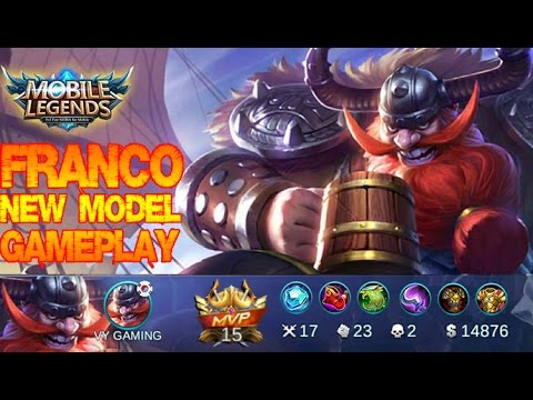 Mobile Legends - [REPLAY] FRANCO New Model Gameplay and Builds [MVP] Update 1.1.72