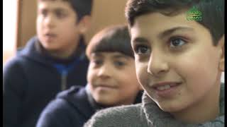 Раздача гуманитарной помощи в Дамаске