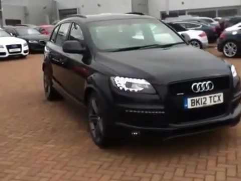 Audi Q7 4 2tdi V8 S Line For Sale At Stafford Audi Youtube