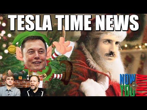 Tesla Time News - St. Nikola's Bag of Presents
