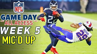 """NFL Week 5 Mic'd Up! """"You threw him into the suites! """"   Game Day All Access 2020"""