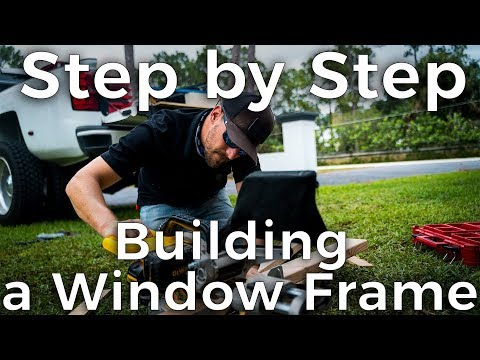 Build a Window Frame for your Shipping Container Home | Step by Step