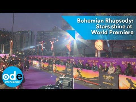 Bohemian Rhapsody: Stars shine at World Premiere