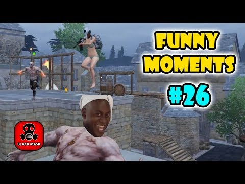 PUBG Mobile Funny Moments EP 26 - Black Mask