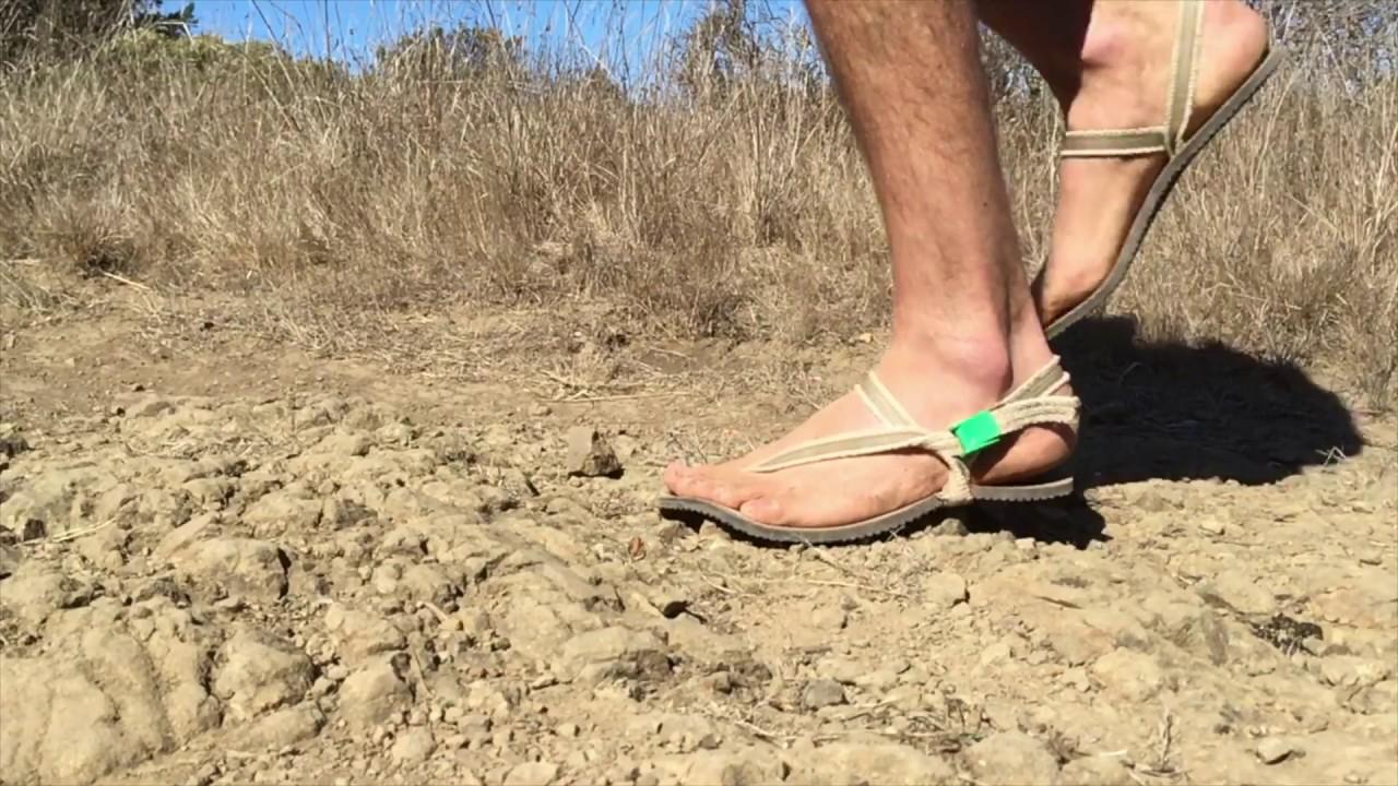 bd31b92d295d Adventure To Beach In Minimalist Hemp Hiking Sandals - YouTube